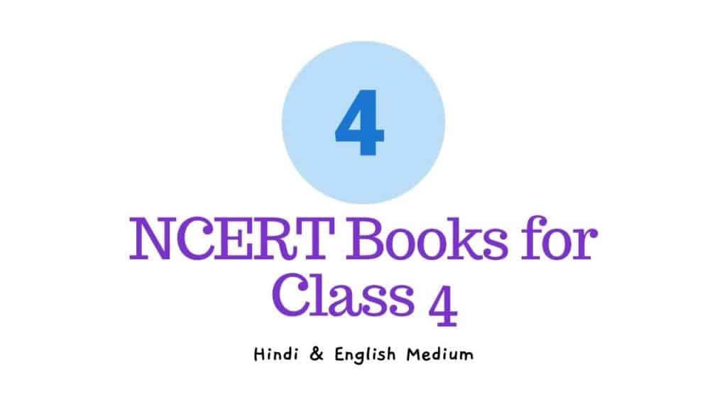 NCERT Books for Class 4 English and Hindi Medium