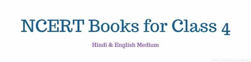 Class 4 NCERT Books Hindi English Medium