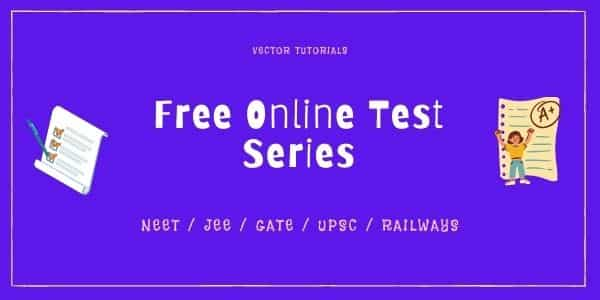 Free Online Test Series